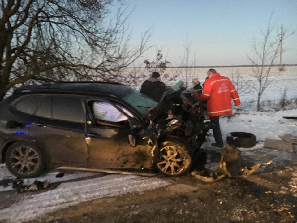 Трагическое ДТП на Одесской трассе (фото)