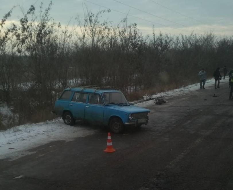 В Николаевской области столкнулись две легковушки (фото)