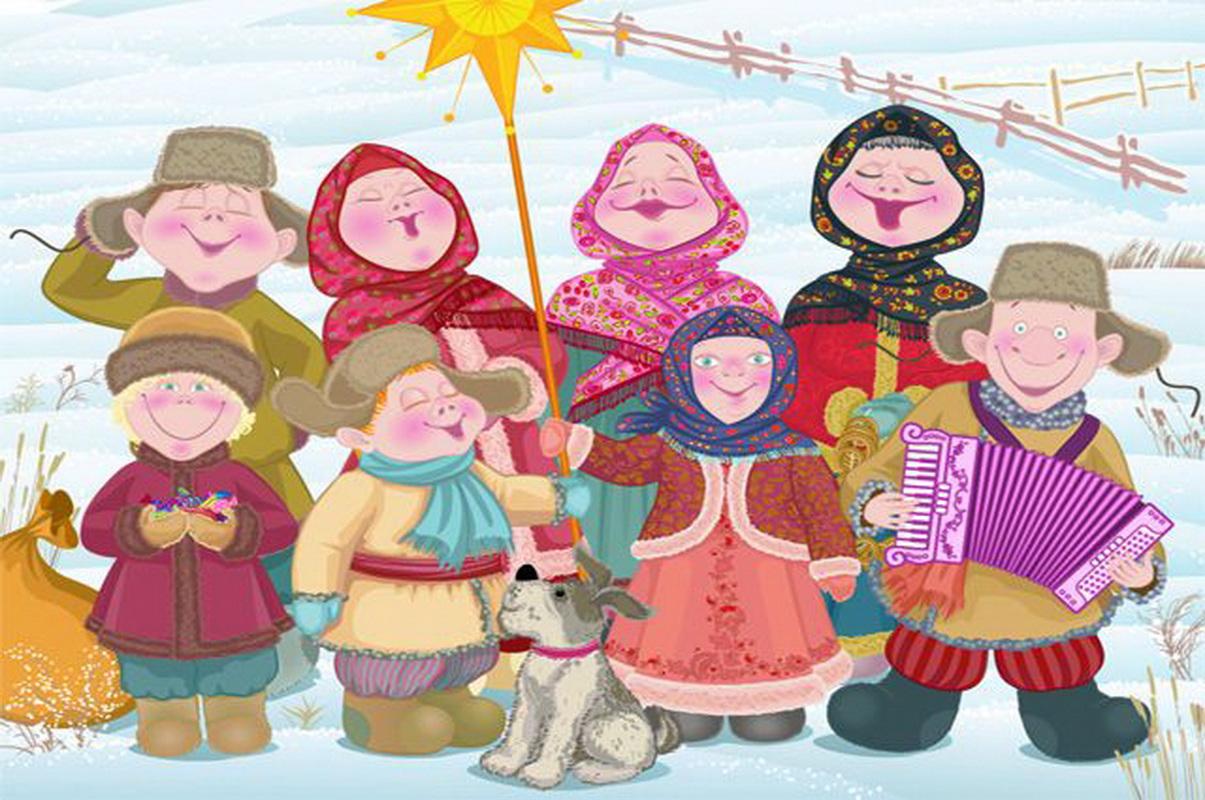 Картинки святок для детей