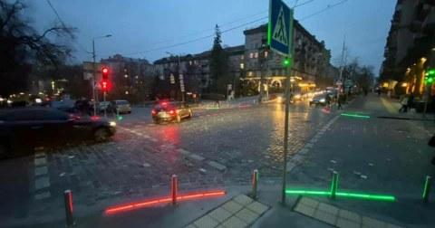 Безопасность под ногами: в центре Николаеве оборудуют необычные пешеходные переходы